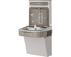 Elkay EZS8WSLK | Wall-mount Bottle Filling Station | Filterless, Refrigerated, EZ-style fountain, Granite Gray - BottleFillingStations.com
