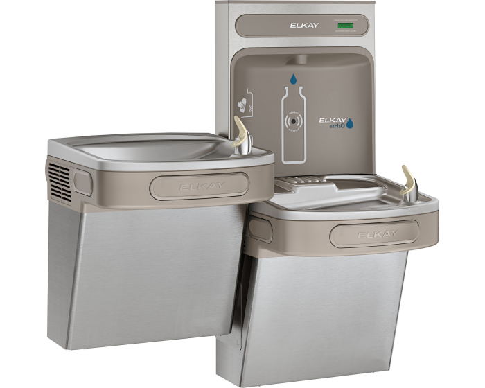 Elkay EZSTL8WSSK | Bi-Level Bottle Filling Station, Filterless - BottleFillingStations.com
