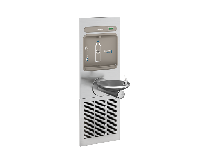 Elkay EZWS-ERPBM8K | Filterless, Refrigerated In-Wall Bottle Filler and Fountain - BottleFillingStations.com