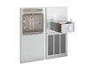 Elkay EZWS-SS8K | In-wall Bottle Filling Station | Filterless, Refrigerated, Soft-sides fountain, Stainless Steel (comes with Mounting Frames) - BottleFillingStations.com