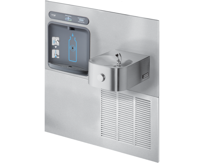 Halsey Taylor HTHB-HRF-RF | RETROFIT BOTTLE FILLER KIT | FILTERLESS, STAINLESS STEEL COLOR FINISH, FOR USE WITH HRF FOUNTAINS