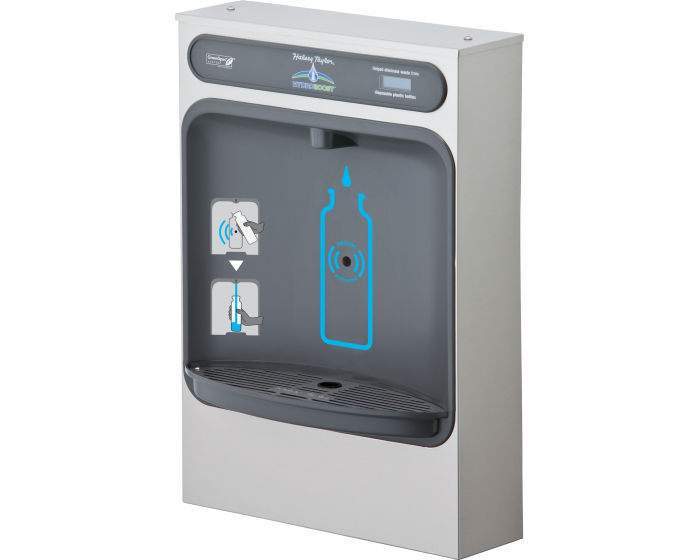 Halsey Taylor HTHBSM | SURFACE MOUNT Bottle Filler, Filterless - BottleFillingStations.com
