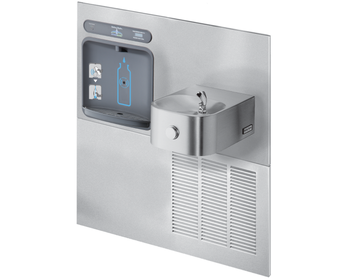 Halsey Taylor HTHBWF-HRF-RF | RETROFIT BOTTLE FILLER KIT | FILTERED, STAINLESS STEEL COLOR FINISH, FOR USE WITH HRF FOUNTAINS