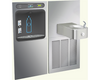 Halsey Taylor Bi-Level Bottle Filler HTHBWF-HRFER Filtered - BottleFillingStations.com