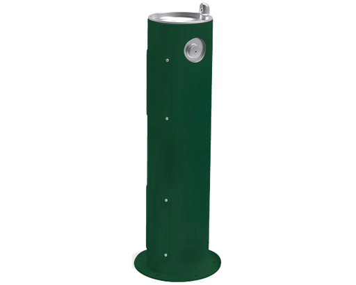 Elkay LK4400 Outdoor Drinking Fountain Pedestal - BottleFillingStations.com