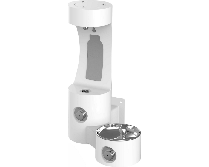 Elkay LK4408BF | Outdoor Bottle Filling Station, MULTI-STATION, WALL MOUNT - BottleFillingStations.com