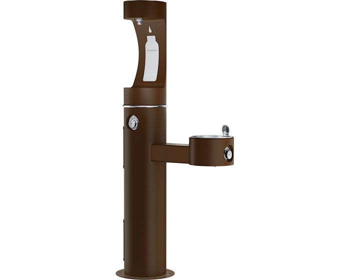 Elkay LK4420BF1U | Outdoor Bottle Filling Station, MULTI-STATION - BottleFillingStations.com