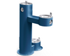 Elkay LK4420DB | Freestanding Bi-level Drinking Fountain | Filterless, Non-refrigerated, Includes a Dog-bowl / Pet fountain