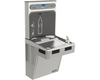 Elkay LMABF8WSLK | Wall-mount Bottle Filling Station | Filtered, Refrigerated, EMAB-style fountain, Granite Gray - BottleFillingStations.com