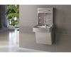 Elkay LZSDWSLK | Wall-mount Bottle Filling Station | Filtered, Non-refrigerated, EZ-style fountain, Granite Gray - BottleFillingStations.com