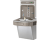Elkay LZSDWSSK | Wall-mount Bottle Filler | Filtered, Non-refrigerated, EZ-style fountain, Stainless Steel - BottleFillingStations.com