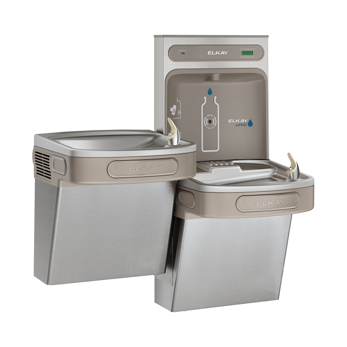 Elkay LZSTL8WSSK | Bi-Level Bottle Filling Station, Filtered - BottleFillingStations.com