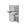 Elkay LZWS-LRPBM28K | | In-wall Bi-level Bottle Filling Station | Filtered, Refrigerated, SwirlFlo fountains (Comes with Mounting Frame) - BottleFillingStations.com