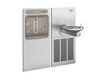 Elkay LZWS-SFGRN8K | In-wall Bottle Filling Station | Filtered, High-efficiency chiller, SwirlFlo fountain (Comes with Mounting Frame) - BottleFillingStations.com