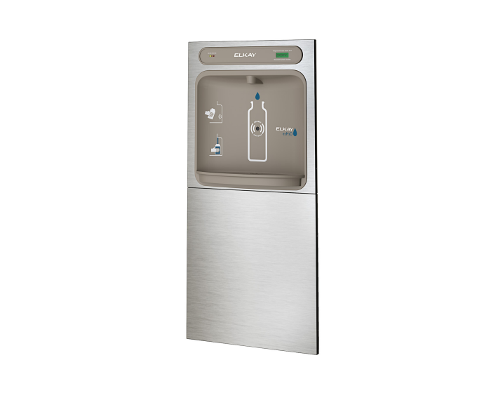 Elkay LZWSDK | In-wall Bottle Filler | Filtered, Non-refrigerated, Hands-free - BottleFillingStations.com