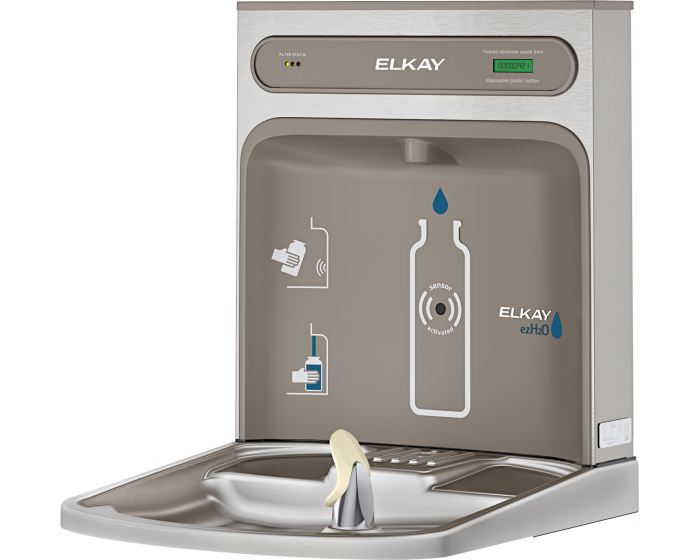 Elkay LZWSRK | Retrofit Bottle Filler | Filtered (For use with EZ-style fountains) - BottleFillingStations.com