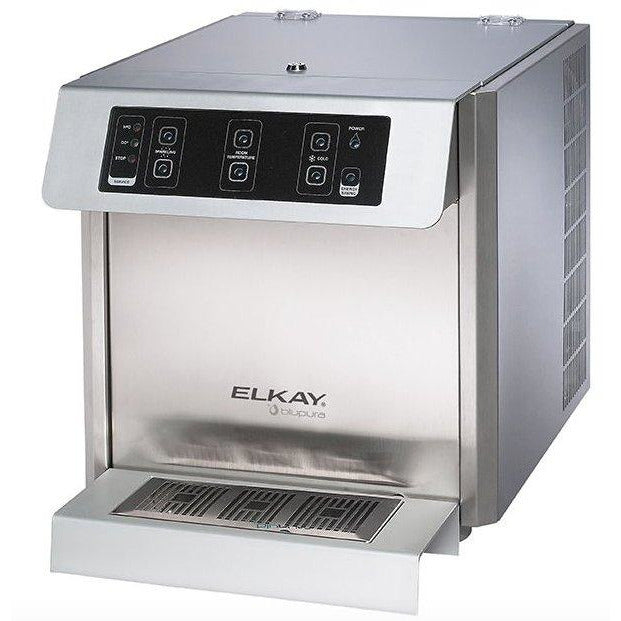 Elkay DSFCF180UVK | Fontemagna Compact Countertop Water Dispenser | Filtered, Refrigerated, Stainless Steel - BottleFillingStations.com