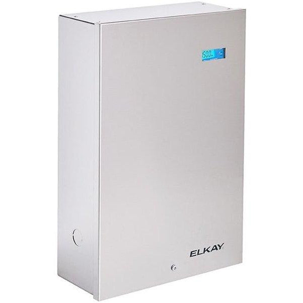 Elkay EF1500VRBMC | Retrofit Filter Kit | 1500-gallon capacity, Vandal-Resistant Mounting Box, Filter Status Monitor - BottleFillingStations.com