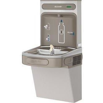 Elkay EZSDWSLK | Wall-mount Bottle Filling Station | Filterless, Non-refrigerated, EZ-style fountain, Granite Gray - BottleFillingStations.com