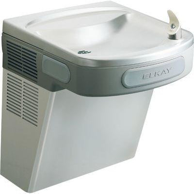 Elkay LZS8S | Wall-mount EZ-style Drinking Fountain | Filtered, Refrigerated, Stainless Steel - BottleFillingStations.com