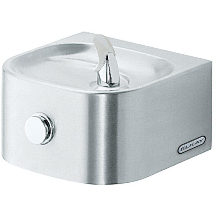 Elkay EDFP210C | Wall-mount Soft-sides Drinking Fountain | Filterless, Non-refrigerated - BottleFillingStations.com