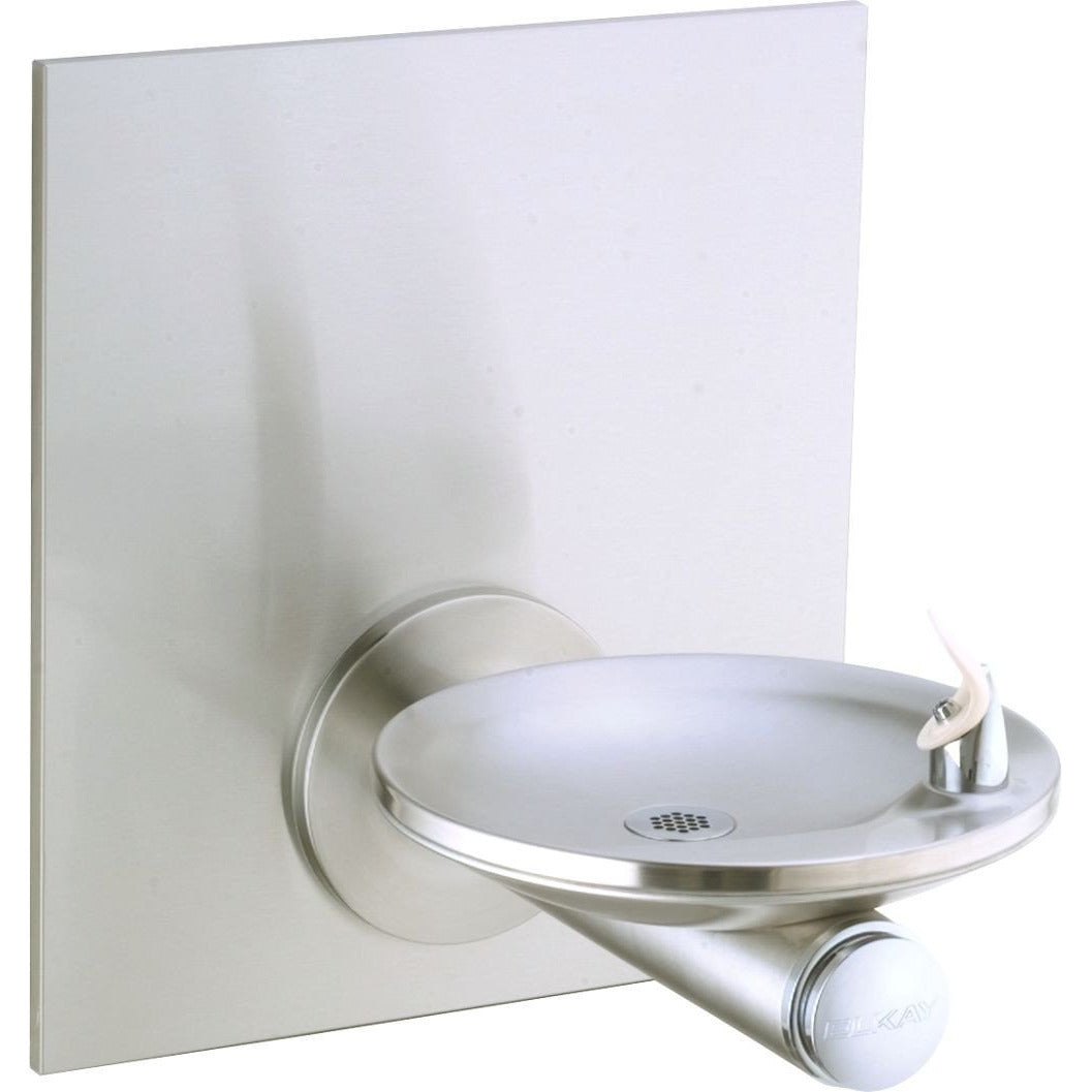 Elkay EDFPBWM114C | Wall-mount SwirlFlo Drinking Fountain | Filterless, Non-refrigerated, with Wall plate - BottleFillingStations.com