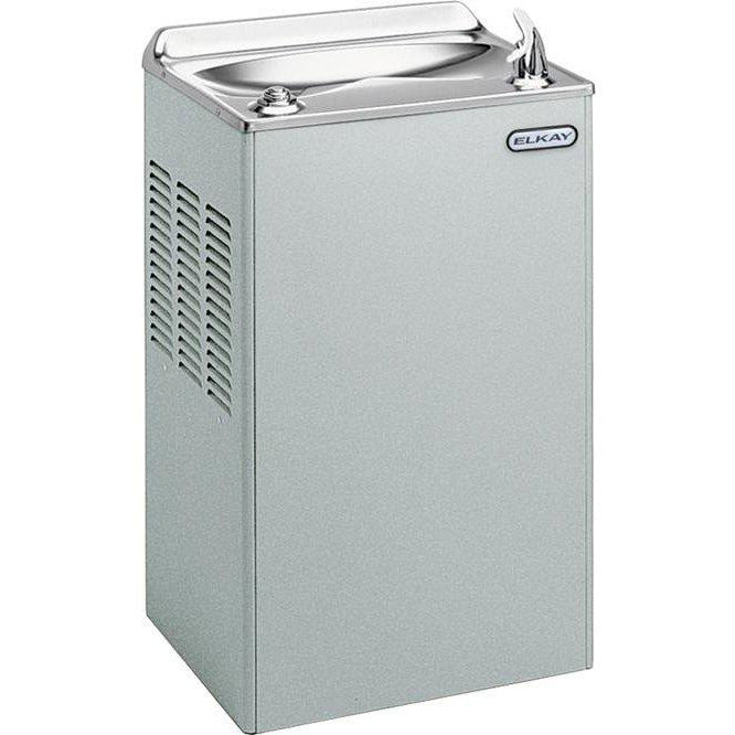 Elkay EWA4S1Z | Wall-mount Drinking Fountain | Filterless, Refrigerated, Stainless Steel - BottleFillingStations.com