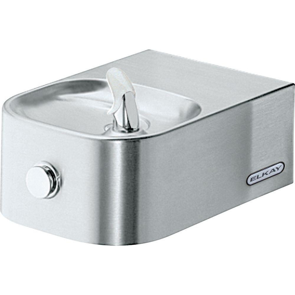 Elkay EDFP214FPK | Wall-mounted Soft-sides Drinking Fountain | Filterless, Non-refrigerated, Vandal-resistant, Freeze-resistant - BottleFillingStations.com