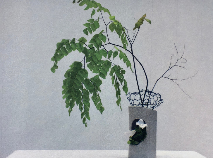 algorithmic earth x toin misho ikebana school