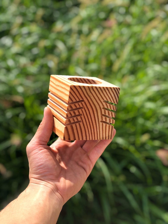 Wooden Table Cube