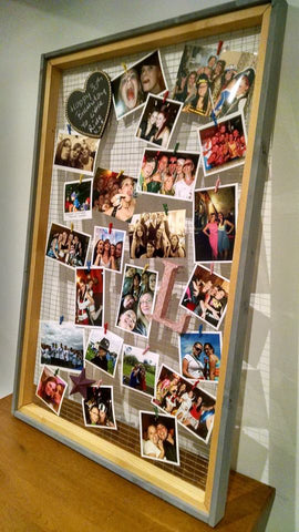 DIY Rustic Photo Frame 2