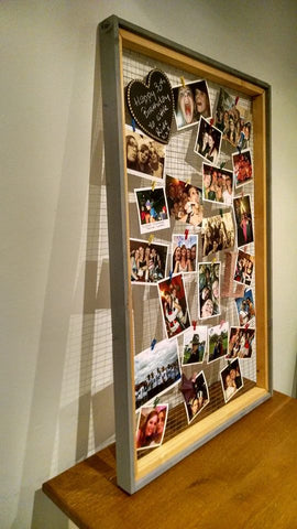 DIY Rustic Photo Frame 3