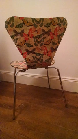 Decoupage Butterfly Chair 3