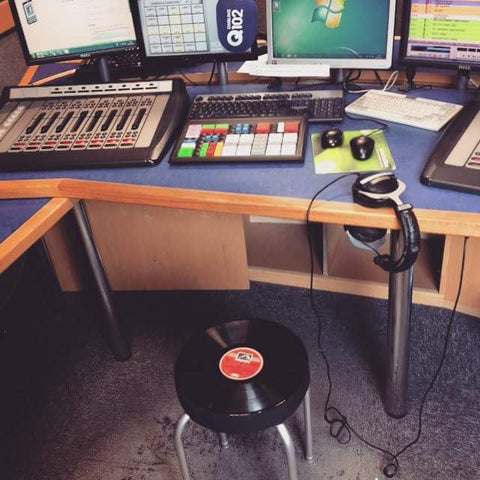 Record Stool Q102 Studio