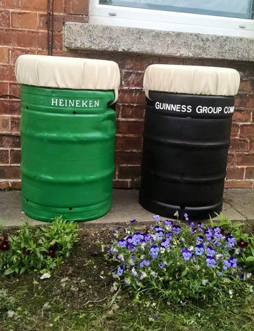 Upcycled Beer Kegs After 1