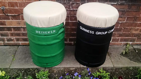 Upcycled Beer Kegs After 2