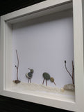 At the Seaside - Birds Irish Pebble Art 2