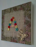 Button Letter Canvas