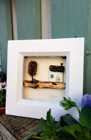 Driftwood Art - House 1