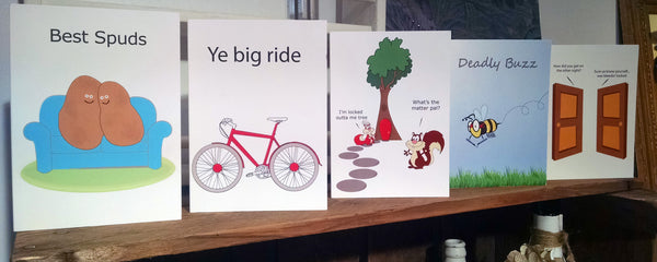 Dublinism Greeting Cards
