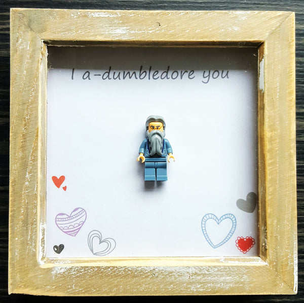 I a-Dumbledore You - Lego Frame 1