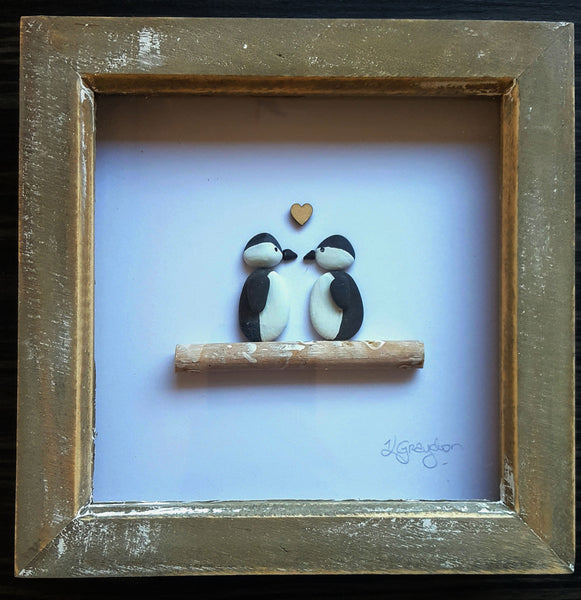 Penguin - Pebble Art