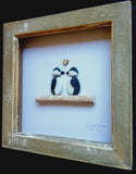 Penguins - Pebble Art