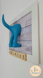 Walkies Dog Lead Holder - Scrabble Frame 3