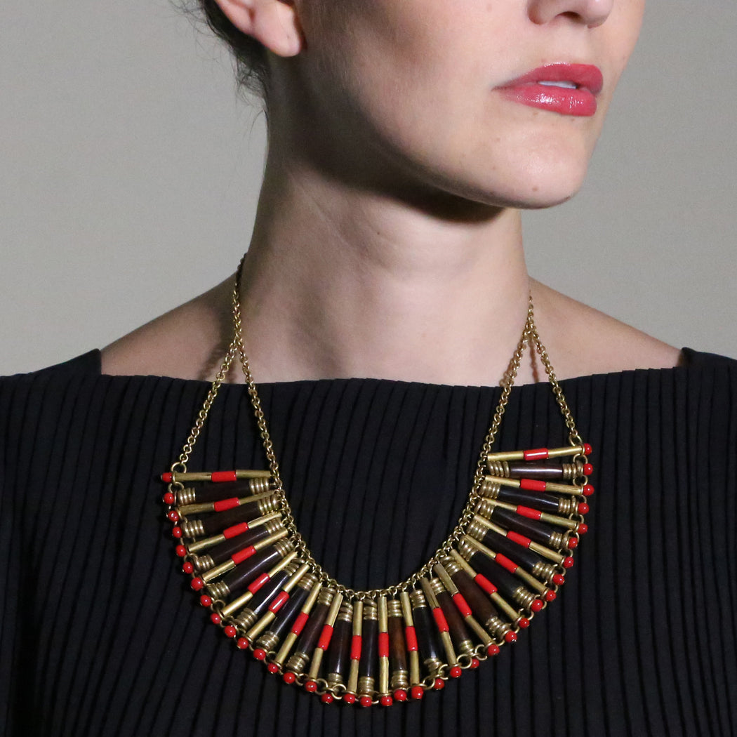 Sunset Statement Necklace