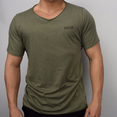 Raw Scoop Tee - Army