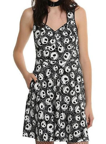 The Nightmare Before Christmas - Jack Face - Dress