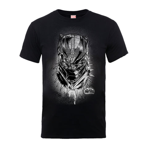 Black Panther - Spray Headshot - T-Shirt