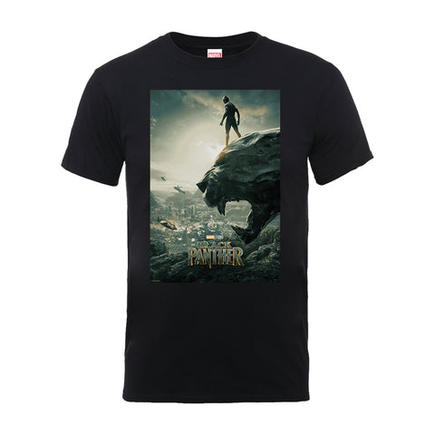 Black Panther - Movie Poster - T-Shirt