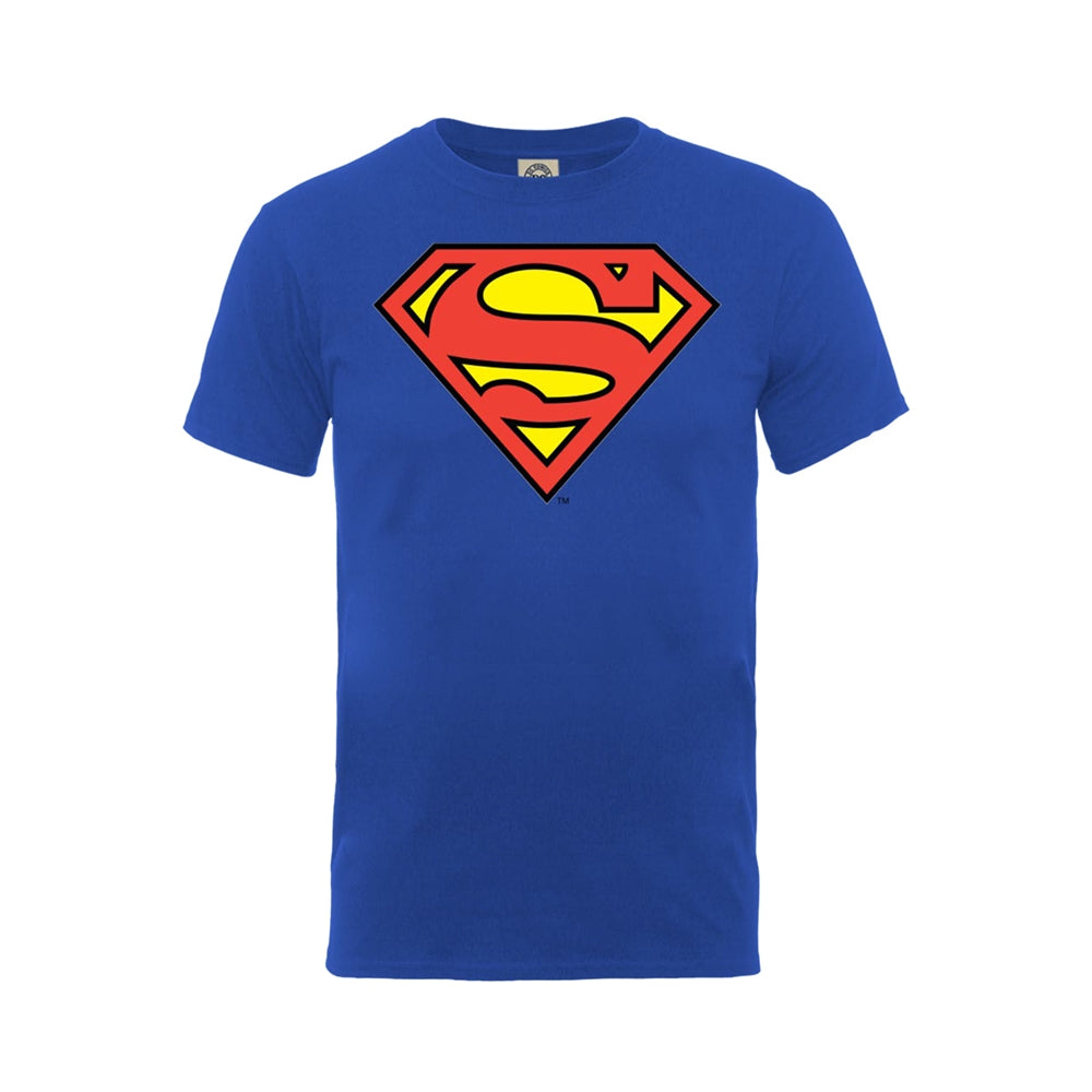 Superman - Retro Logo - T-Shirt